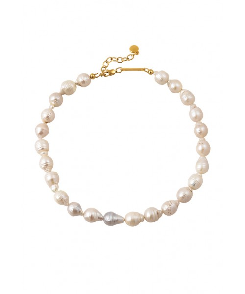 MÉRBABE - ARIELLE BAROQUE PEARLS NECKLACE